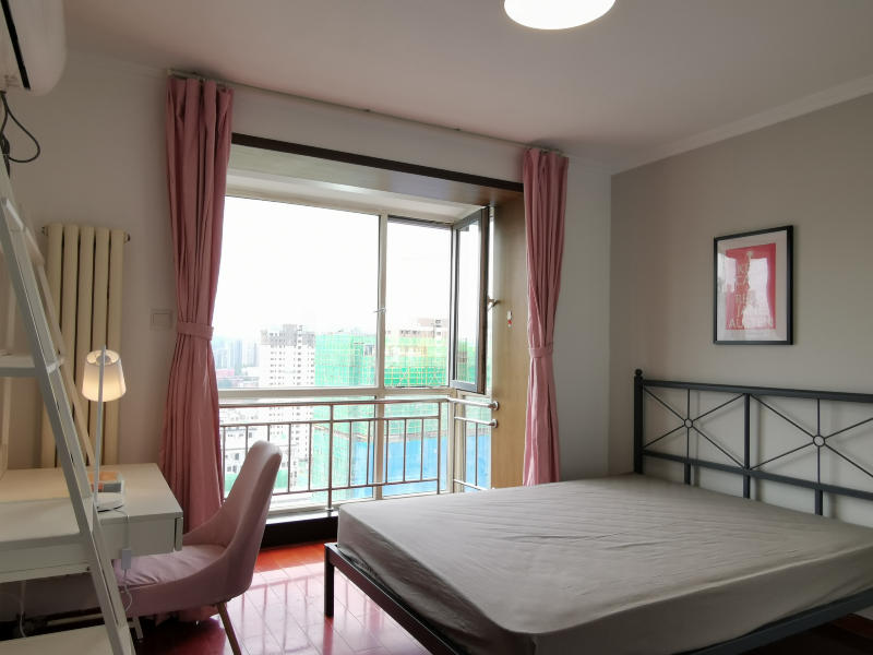 玉泉营三环新城6号院合租房源卧室图