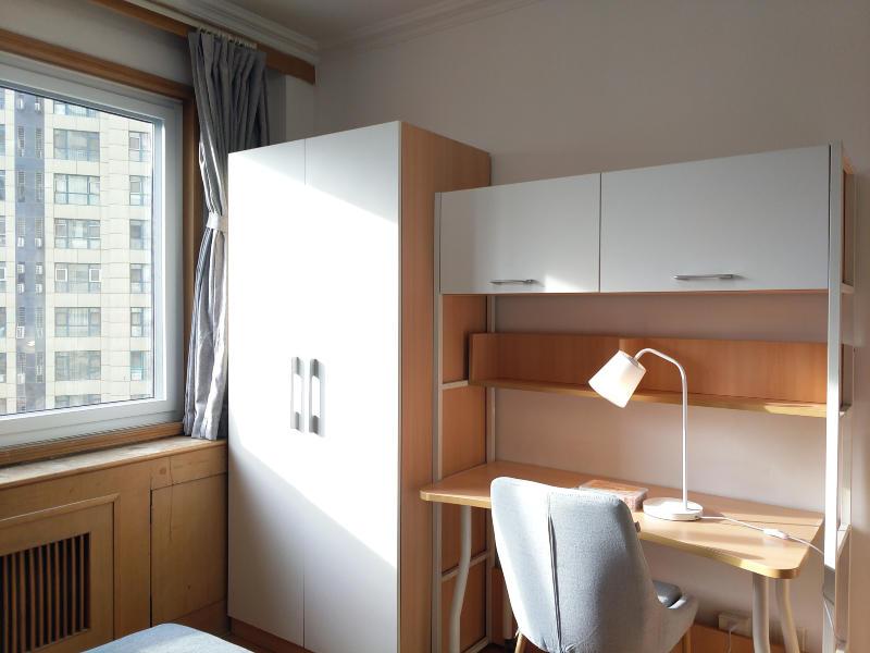 科技園區寶隆溫泉公寓合租房源臥室圖